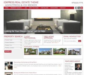 idxpress real estate wordpress theme idx broker agentpress genesis