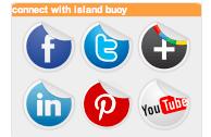 AgentPress IDX Broker Platinum IslandBuoy social media logos