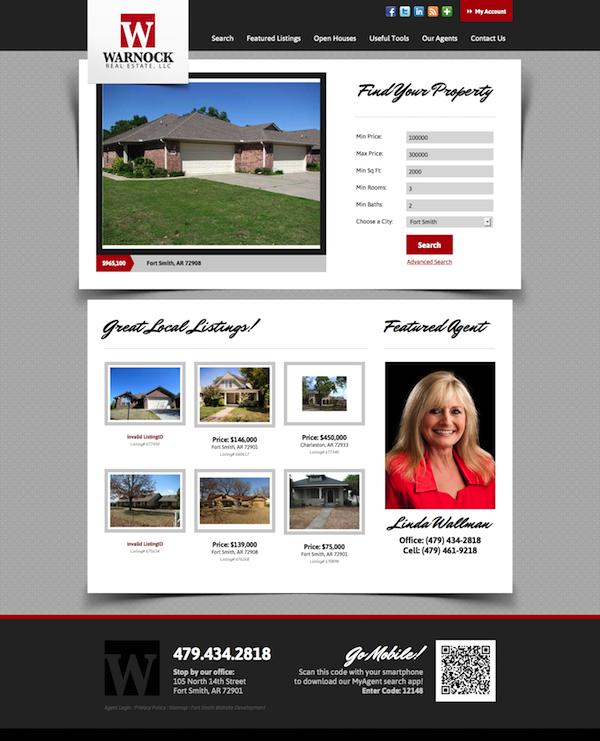 Real estate website of the week IDX Broker Platinum home page