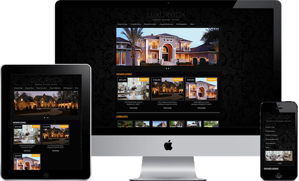 Luxury IDX Mobile Responsive WordPress theme