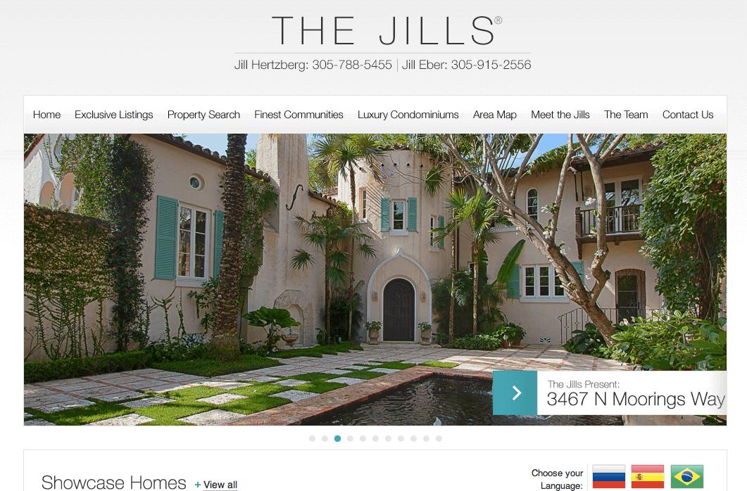 real estate luxury wordpress themes Website of the week