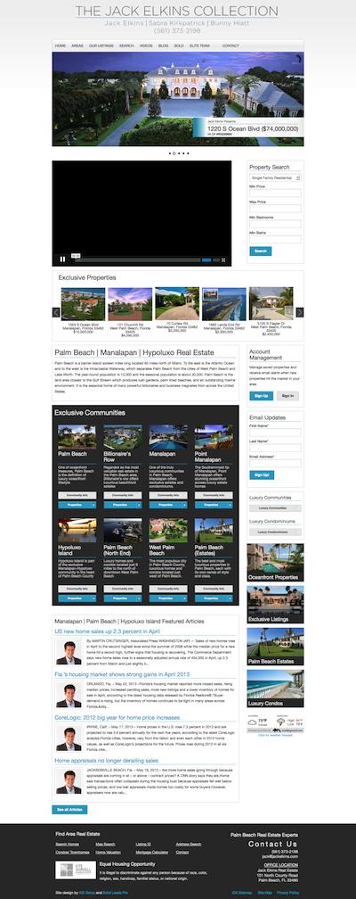 Luxury real estate websites wordpress themes jackelkins400