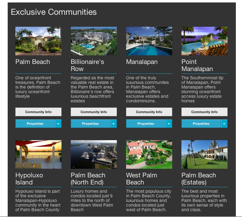 Real Estate Website of the Week IDX Broker AgentPress JackElkins communities