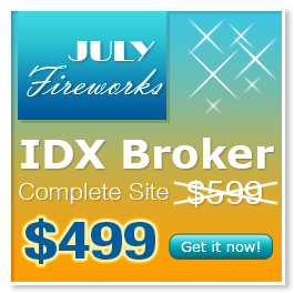 Mobile responsive IDX Broker website special price