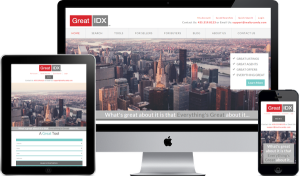 WordPress Real estate experts great theme