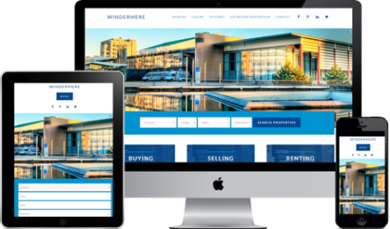 New Equity WordPress Real estate theme Windermere