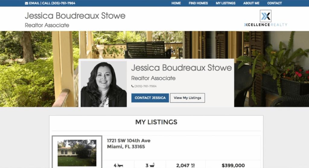 IDX Broker WordPress excellent agent pages plugin