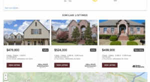 IDX Broker similar listings WordPress
