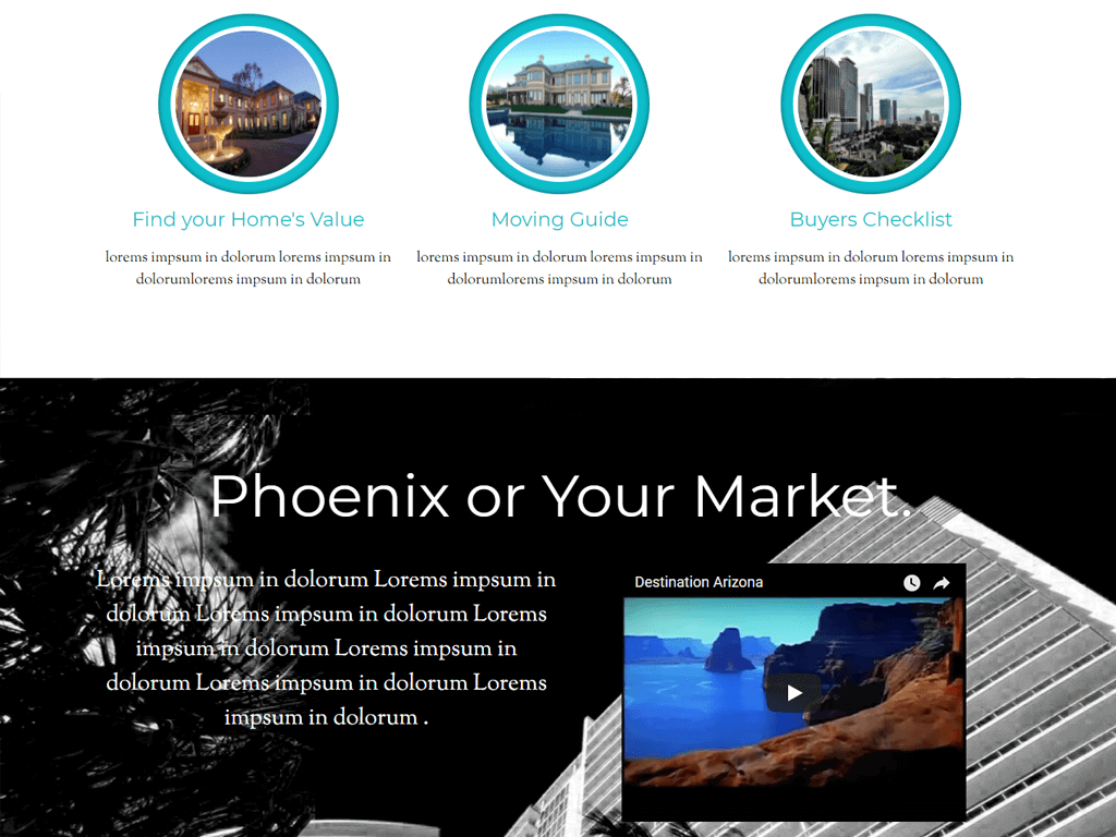 Phoenix Parallax Theme