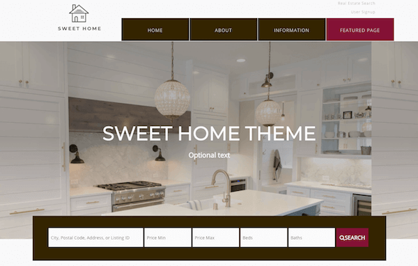 Free WordPress real estate theme
