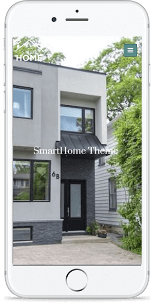 Smart Home free real estate theme download responsive site