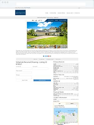 classic resorts details template idx broker customization
