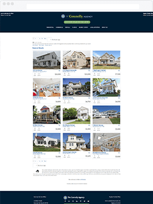 conolly results template real estate idx broker customization