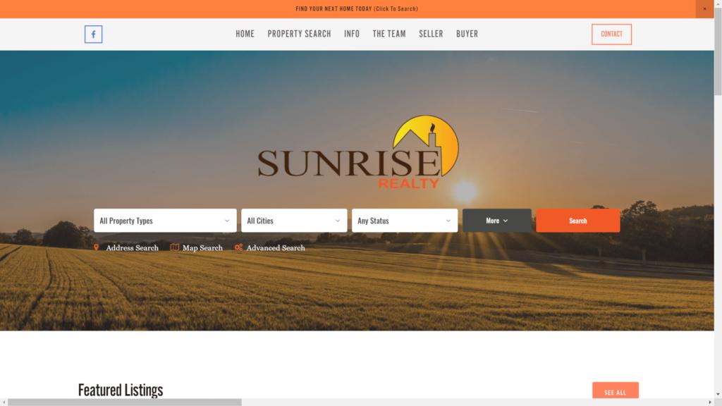 Sunrise Realty - SQUARESPACE