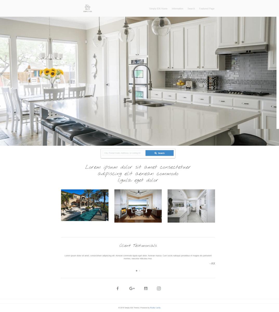 Casabella Home Page