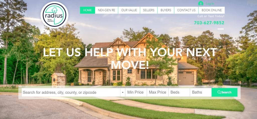 Radius Real Estate Home