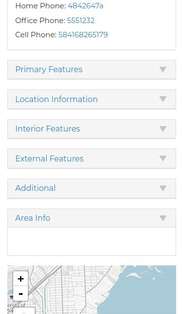 Mobile Information Tabs