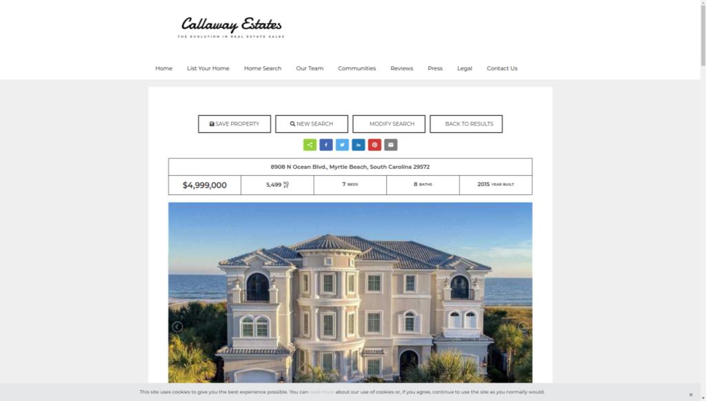 Honolulu Details - Callaway Estates