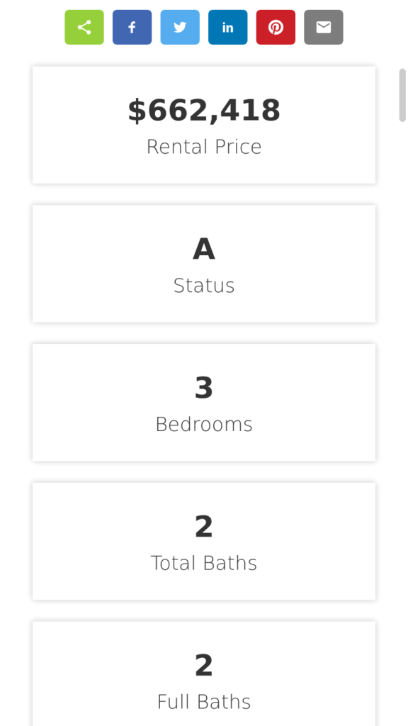 Featured information on mobile