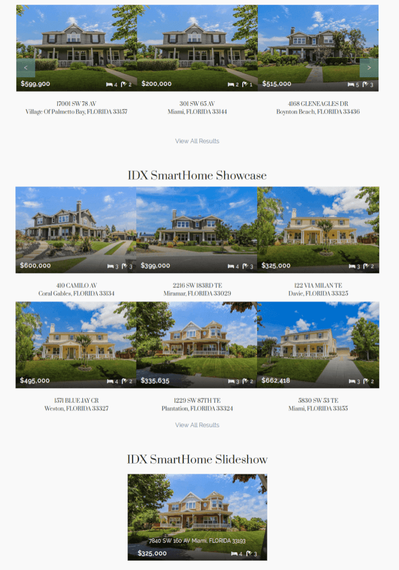 Smart Home free real estate theme download widgets